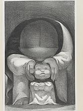 Jean Charlot: First Steps, 1936 Lithograph American Artists Group