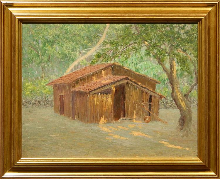 Margaret Morgan Wolfe: 1963 Tropical Farm Building