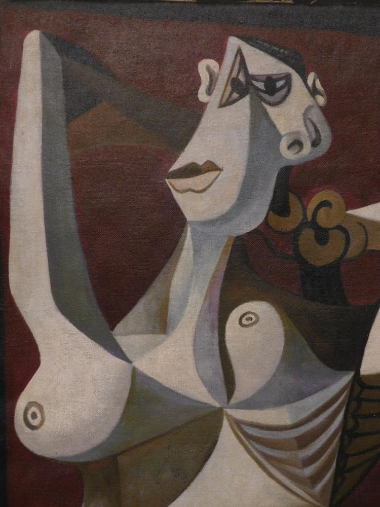 After Pablo Picasso: Woman Dressing Hair