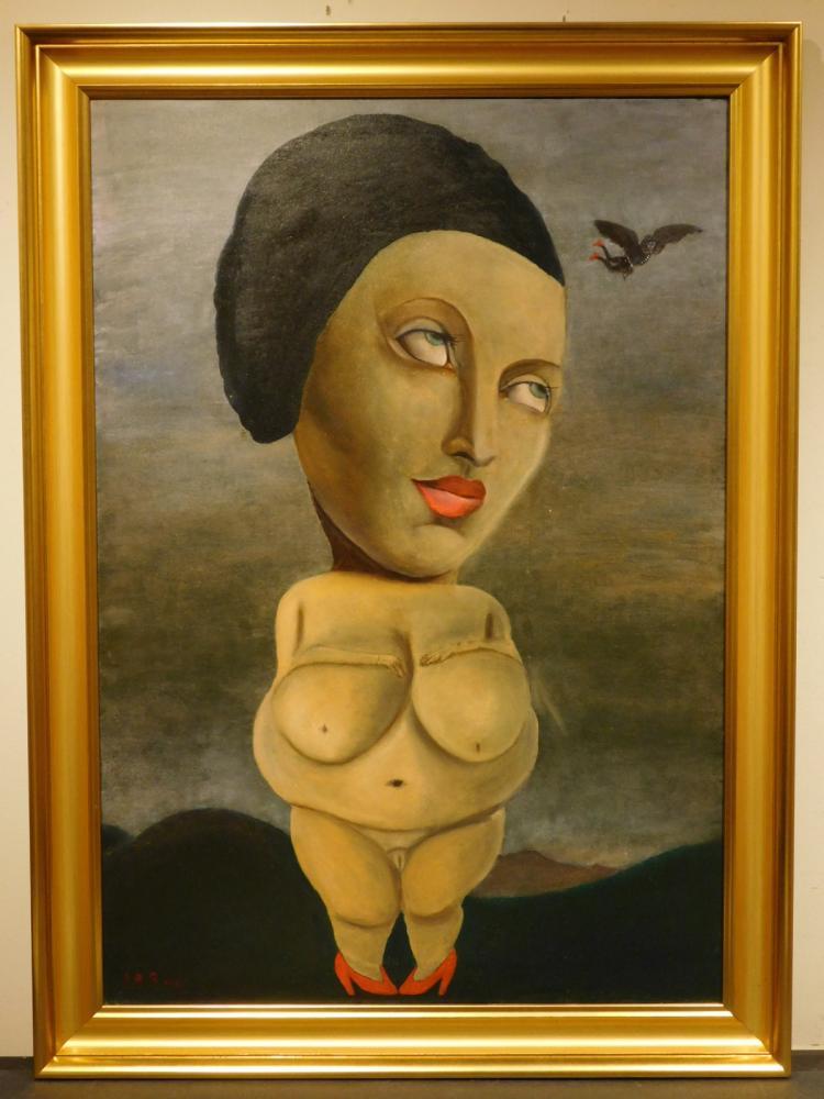 Juta Barbara Bender: Venus Watching Icarus, 2012