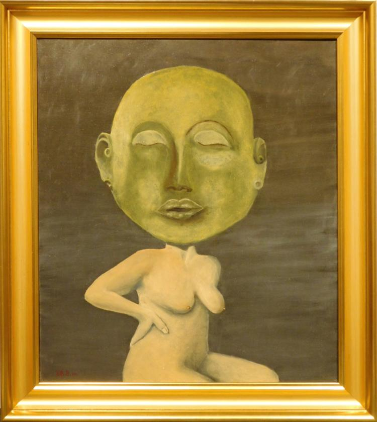 Juta Barbara Bender: Jade Mask, 2012