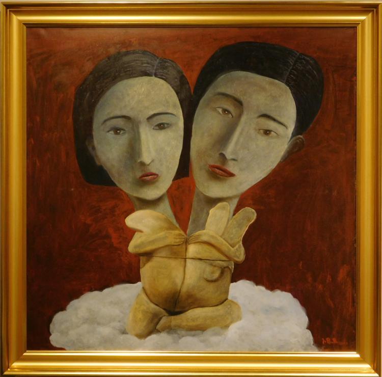 Juta Barbara Bender: Siamese Twins, 2012