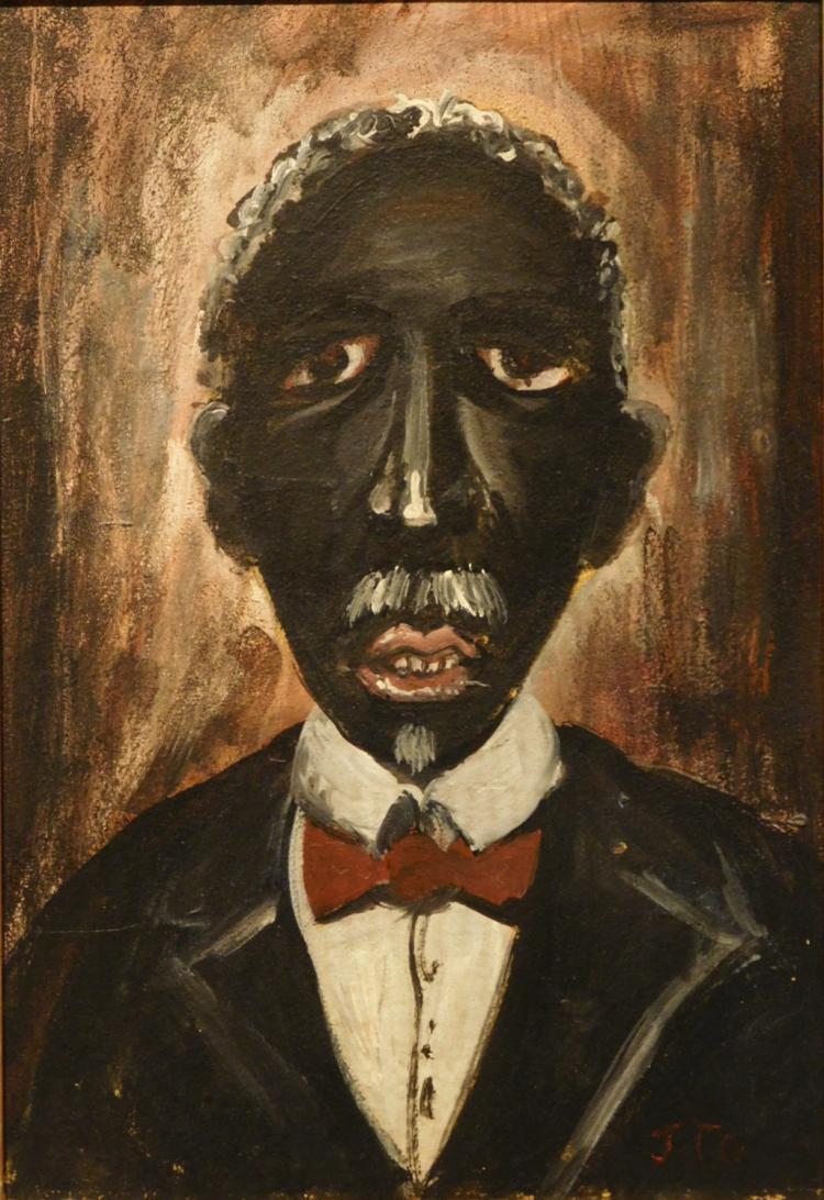 Joaquin Torres Garcia: Portrait of a Man