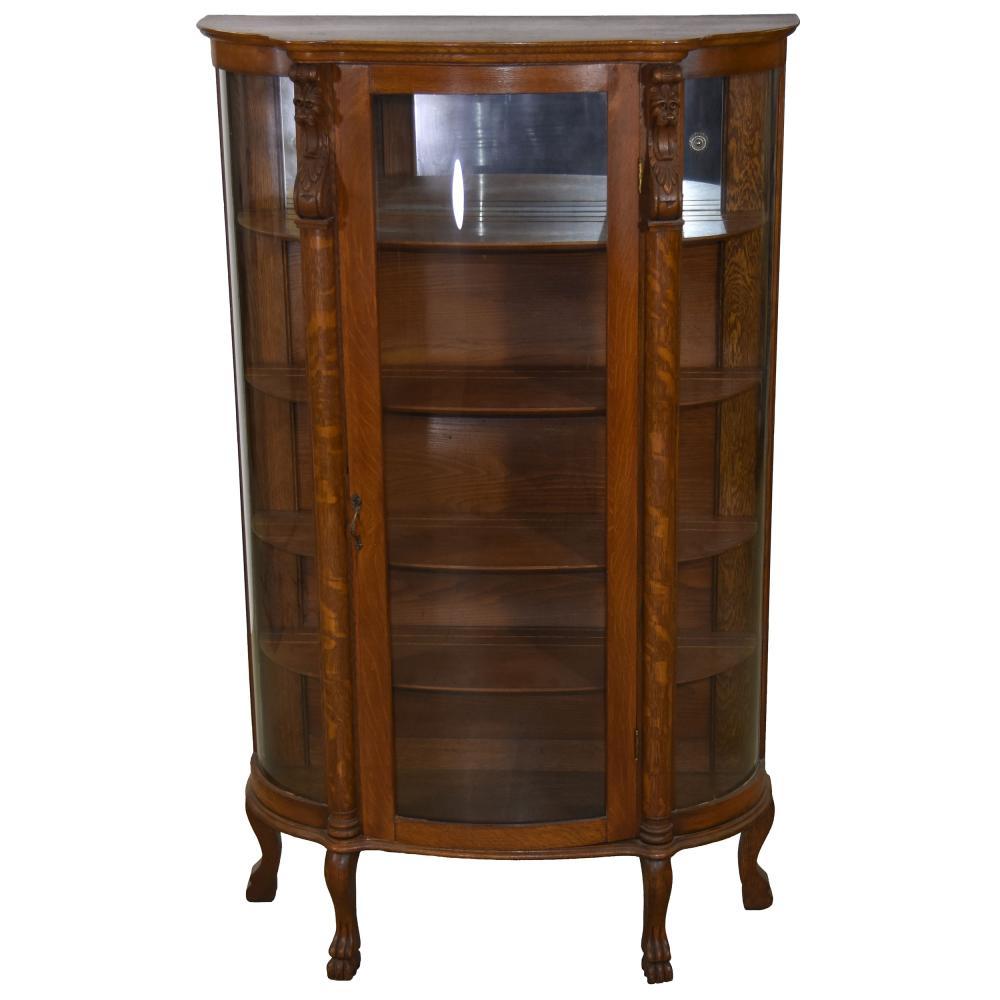 Oak China Cabinet   64.5
