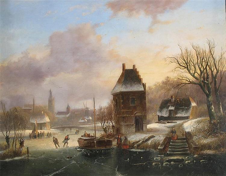 Johannes Petrus Van Velzen (Dutch 1816-1853)
