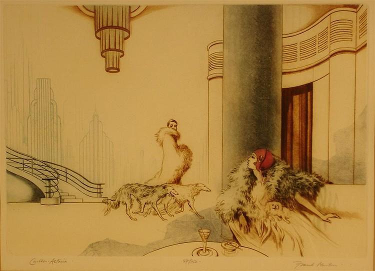 'Carlton - Astoria' a limited edition print by