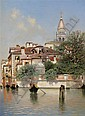 Henry Pember Smith (1854-1907) Venice Signed Oil, Arthur Pember Smith, Click for value