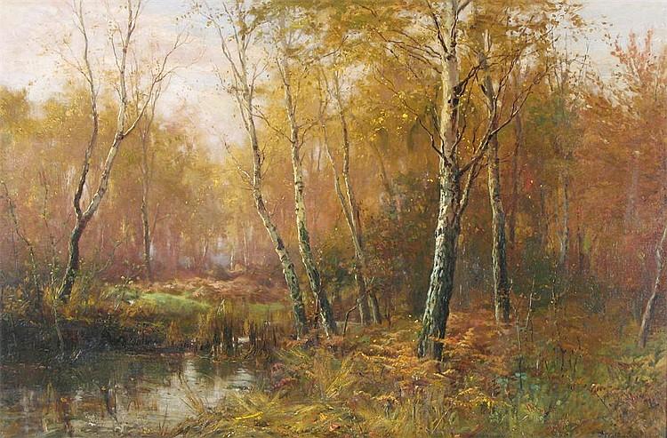 Frederick Golden Short (1863-1936) A woodland