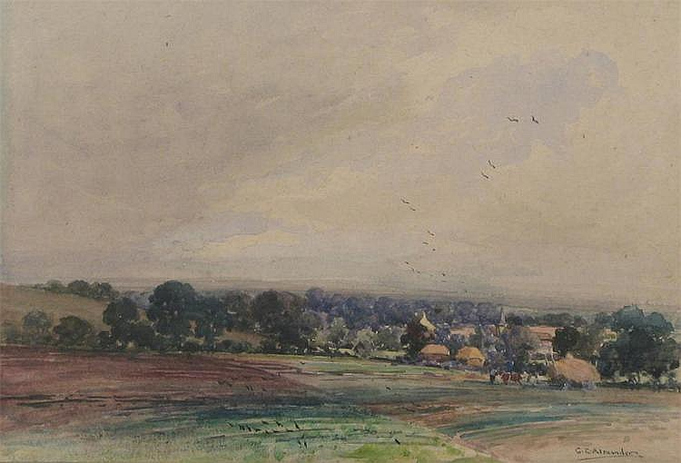 George Edward Alexander (1865-1931), Rye from the