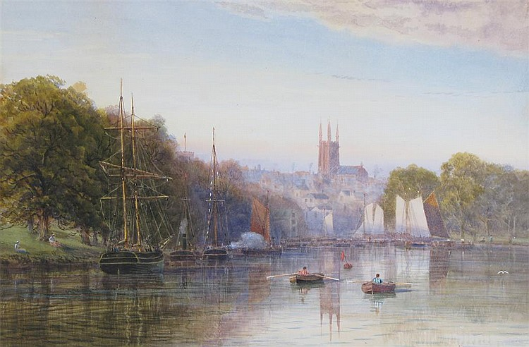 Arthur Henry Enock (fl. 1869-1910) Totnes Regatta
