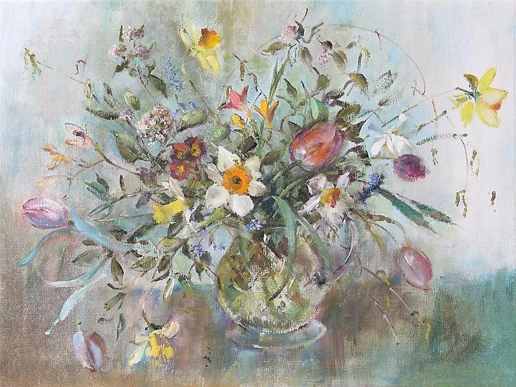 ‡ Barbara Crowe (b. 1942) Spring II -
