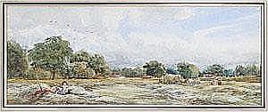 Samuel Austin (1796-1834) A break from the harvest