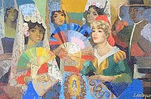 ‡ Isidro Antequera (Spanish b.1926) A