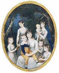 John Keenan (Irish fl. 1780-1819) Portrait of a
