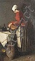 François Bonvin (French 1817-1887) Louison la, Francois Bonvin, Click for value