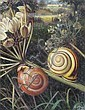 ? Raymond Booth (b. 1929): Snails, 1981, signed,, Raymond C. Booth, Click for value