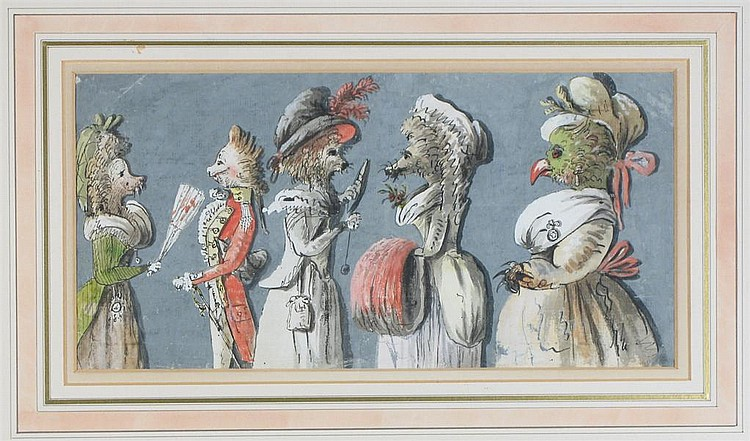 Isaac Cruikshank (c.1756-1811/16): Caricatures of