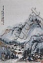 A Chinese painting on paper by Fang Zhaolin, Fang Zhaoling, Click for value