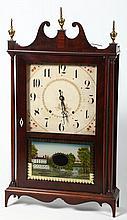 Seth Thomas Pillar & Scroll Mantel Clock