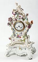 Fine Antique German Figural Porcelain Clock