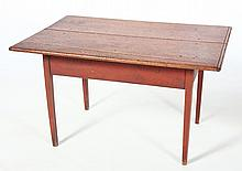 Very Fine American Federal Painted Tavern Table