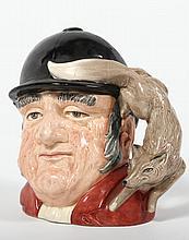 Charming Royal Doulton Figural Fox Hunt Tankard