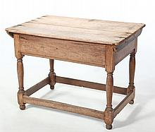Early American William & Mary Tavern Table