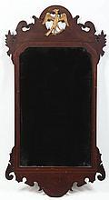 Colonial Revival Federal Style Mahogany Mirror