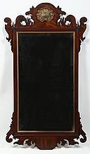 Henkel Harris Chippendale Style Mahogany Mirror