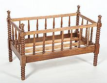 Southern Country Sheraton Walnut Child's Bed