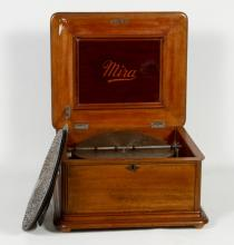 Antique Mira Disc Music Box