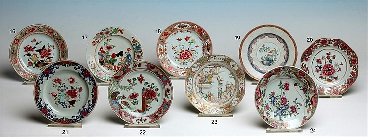 CHINESE EXPORT PORCELAIN DISH