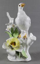 COPODIMONTE PORCELAIN FIGURE OF A BIRD