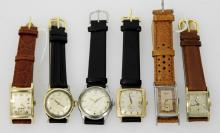 LOT OF 6 VINTAGE WATCHES