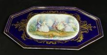 CONTINENTAL PORCELAIN TRAY