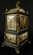 19TH C. VIENNESE ENAMEL JEWELERY BOX