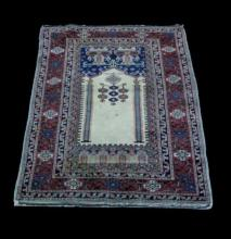 PRAYER RUG, MID 20TH C.