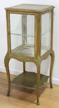 Louis XV Style Gilt Painted Curio