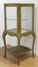 Gilt Painted Louis XV Style Curio