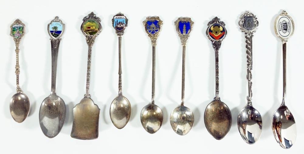 Assorted Locational Spoons