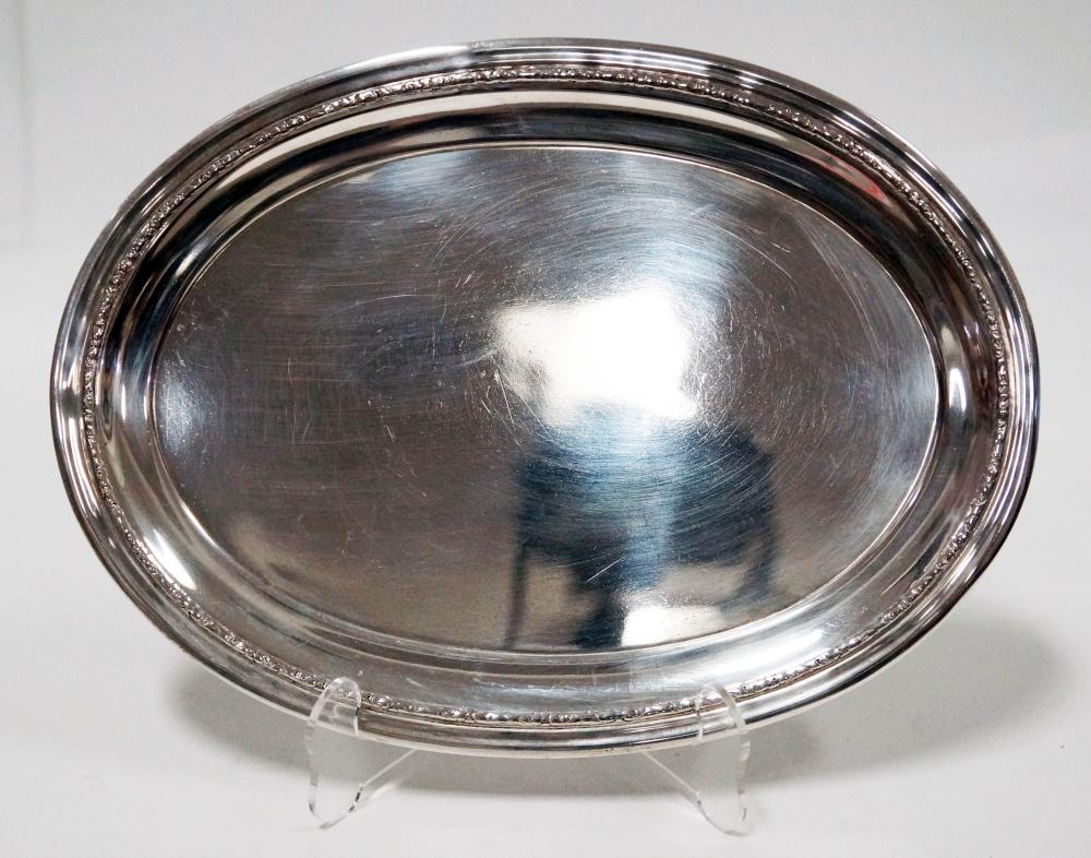 International Oval Sterling Dish
