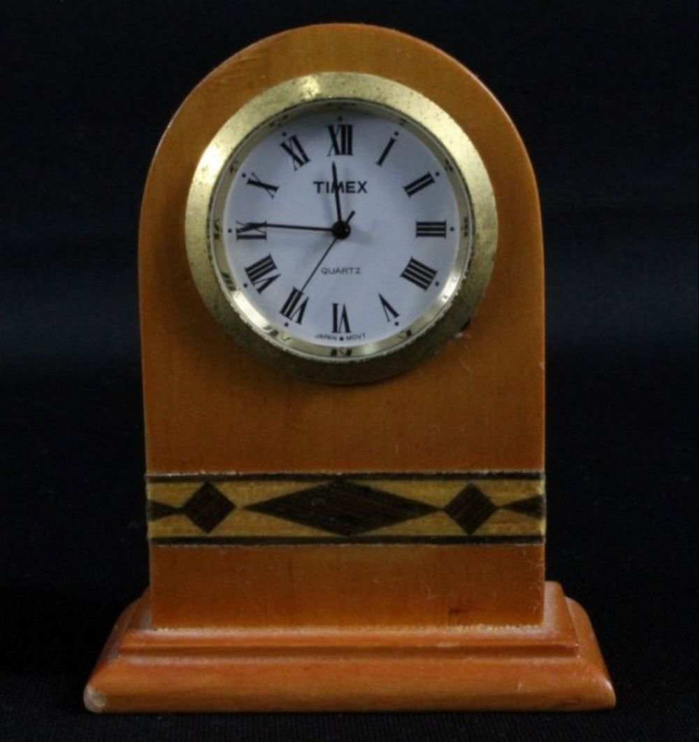 Timex Wooden Decoration Clock