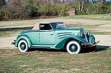 1934 Auburn 652-Y Cabriolet *No Reserve*
