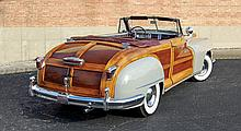 1948 Chrysler Town & Country Convertible (Recognized as a Full Classic_ by the CCCA & One of very few in the world)