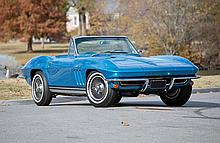 1965 Chevrolet Corvette 'Fuelie' Roadster (NCRS Award Winner, Original numbers matching fuel-injected V8)