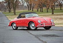 1959 Porsche 356A/1600 Convertible D (No Reserve) *One-Year-only Porsche Model*