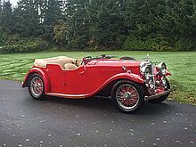 1936 Alvis Silver Eagle SG Sport Tourer