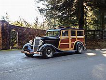 1934 Ford Custom Woodie Wagon