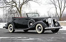 1937 Packard Twelve 1507 Convertible Victoria (A CCCA Full Classic_)