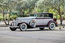 1932 Auburn Twelve Convertible Sedan